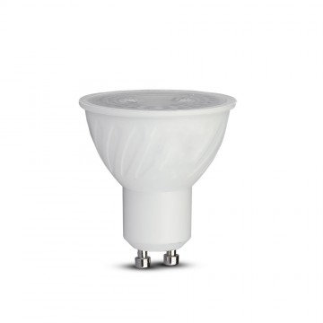 Bombilla LED SAMSUNG Chip GU10 6.5W Ripple Plastic 38` Dimmable