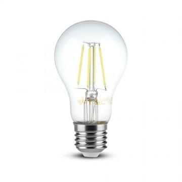 Bombilla de LED SAMSUNG Chip Filamento 6W E27 A60 Transparente