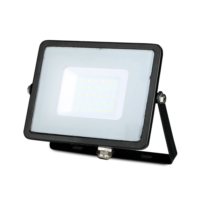 Proyector LED SMD 30W Chip SAMSUNG Cuerpo Negro VT-30-Proyectores LED-buyled.es