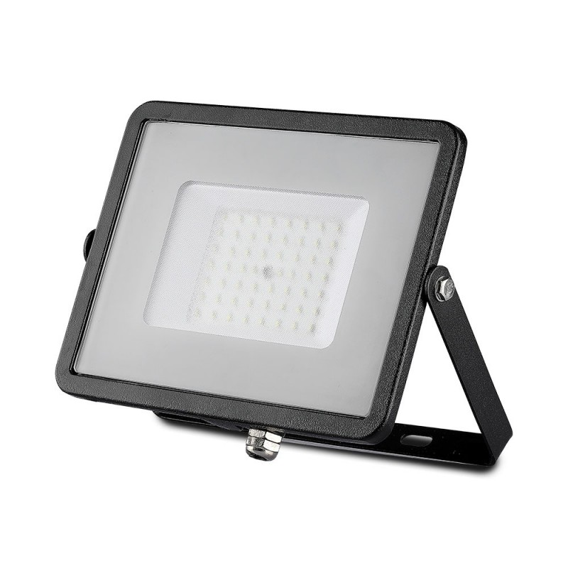 Proyector LED SMD 50W Chip SAMSUNG Cuerpo Negro