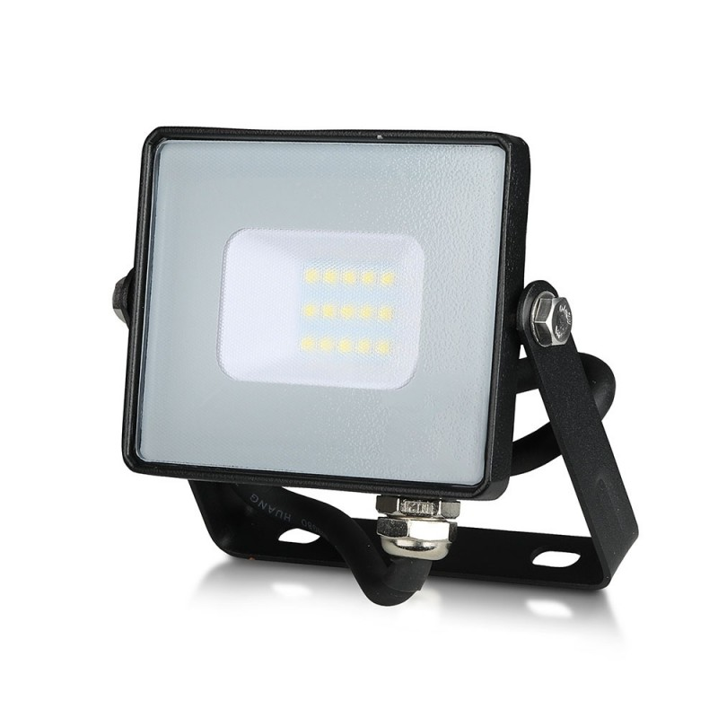 Proyector LED 10W SMD SAMSUNG Chip Cuerpo Negro VT-10-Proyectores LED-buyled.es