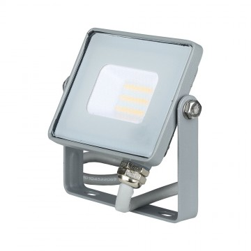 Proyector LED 10W SMD SAMSUNG Chip Cuerpo Gris