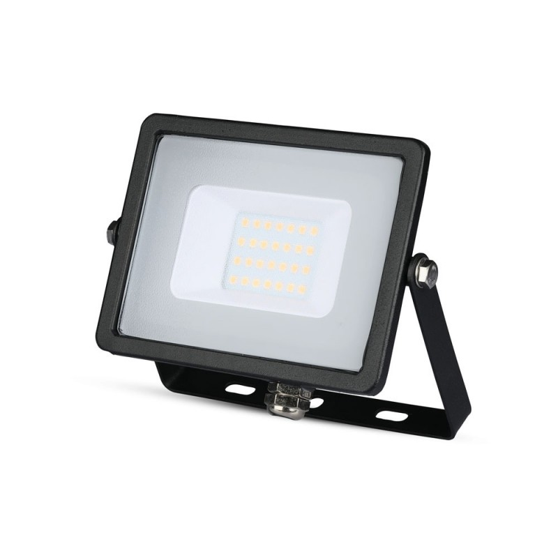 Proyector LED 20W SMD SAMSUNG Chip Cuerpo Negro VT-20-Proyectores LED-buyled.es