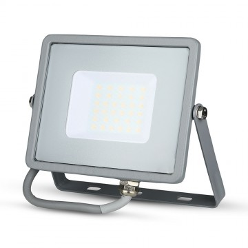 Proyector LED 30W SMD SAMSUNG Chip Cuerpo Gris