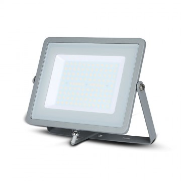 Proyector LED 100W LED SMD SAMSUNG Chip Cuerpo Gris