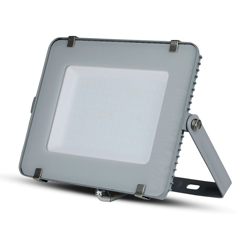 Proyector LED 150W SMD SAMSUNG Chip Cuerpo Gris VT-150-Proyectores LED-buyled.es