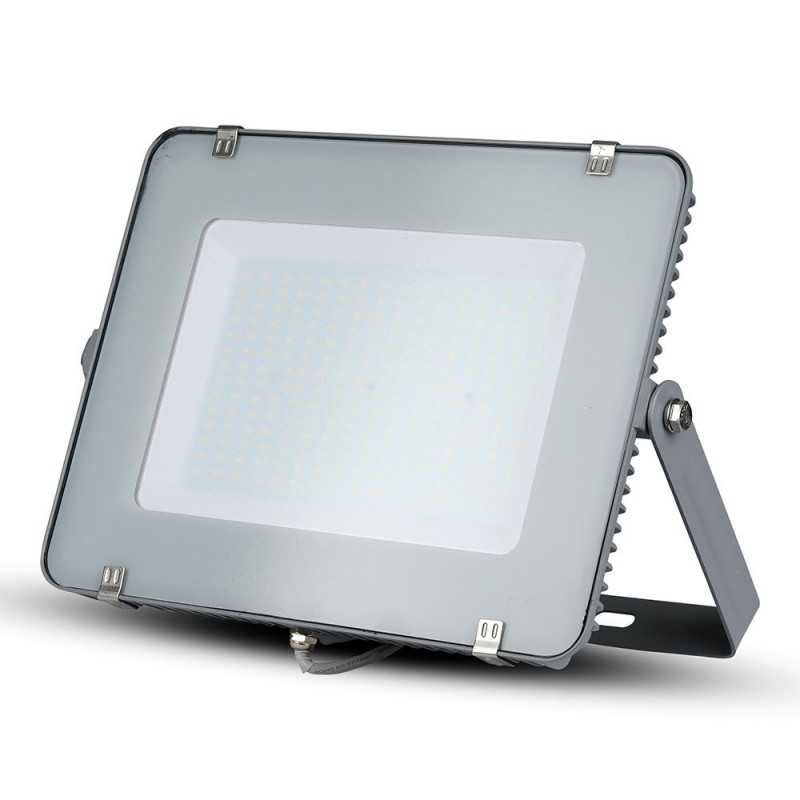 Proyector LED 300W SMD SAMSUNG Chip Cuerpo Gris VT-300-Proyectores LED-buyled.es