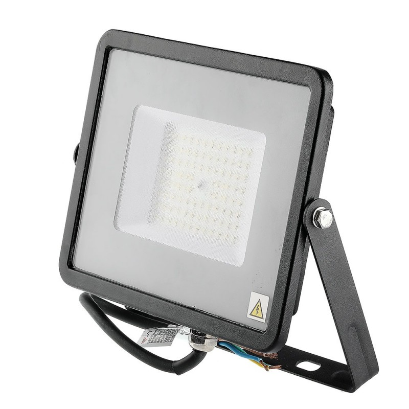 Proyector LED 50W SMD SAMSUNG Chip ultra SLIM Negro 120 lm/W VT-56-Proyectores LED-buyled.es