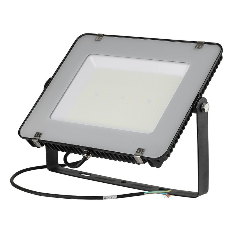 Proyector LED 200W SMD SAMSUNG Chip Slim Cuerpo Negro 120 lm/W VT-206-Proyectores LED-buyled.es