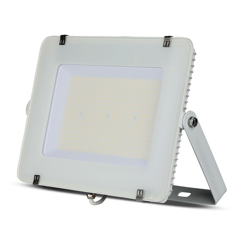 Proyector LED 200W SMD SAMSUNG Chip Slim Cuerpo Blanco 120 lm/W VT-206-Proyectores LED-buyled.es