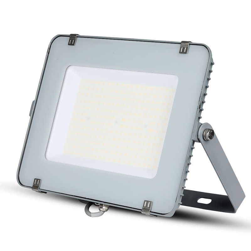 Proyector LED 200W SMD SAMSUNG Chip Slim Cuerpo Gris 120 lm/W VT-206-Proyectores LED-buyled.es