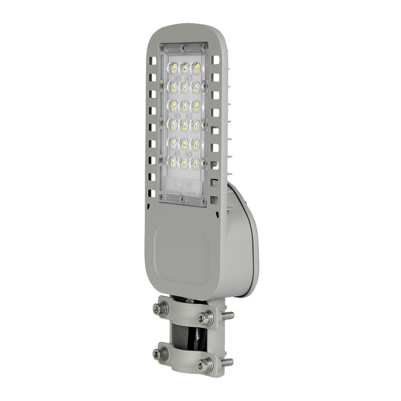 Farola LED 30W SAMSUNG Chip 5 años de garantía Slim 120 lm/W VT-34ST-Farolas LED-buyled.es