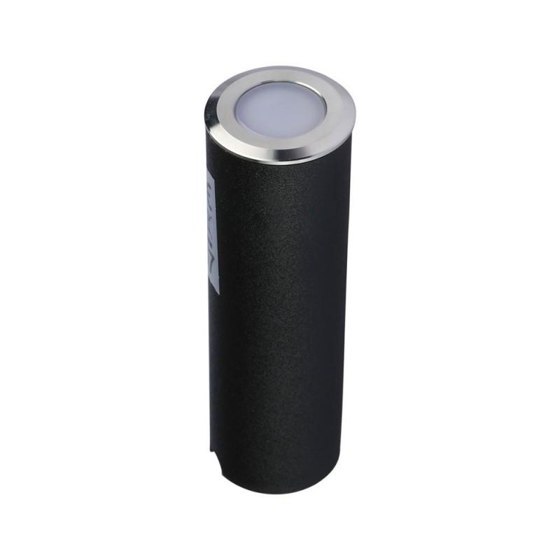 Baliza LED Escalera 0.5W Color Plateado VT-1141-Iluminación Escaleras-VTAC