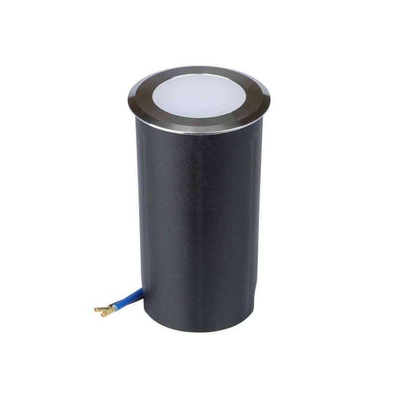 Baliza LED Escalera 1W Color Plateado VT-1151-Iluminación Escaleras-VTAC