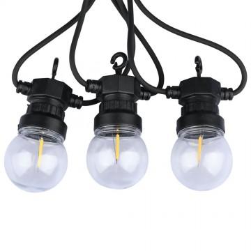 Girnalda luces LED 5Mx10 bombillas de Filamento