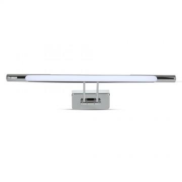 8W LED Lámpara de espejo Cromo 500cm