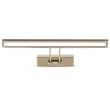 Lámpara LED de espejo 8W Oro