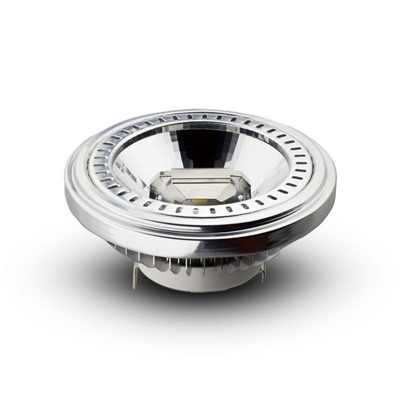 Bombilla LED AR111 15W 12V Angulo de apertura 20 Sharp Chip