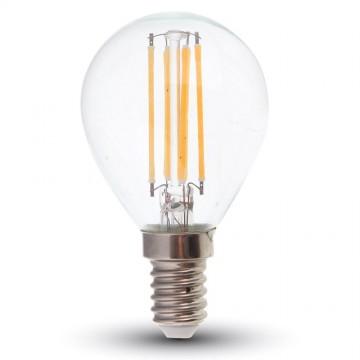 Bombilla LED 4W Filamento Patent E14 P45 Regulable
