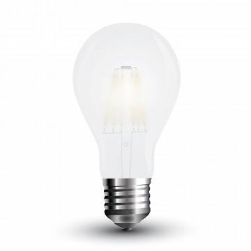 Bombilla LED 4W Filamento E27 A60 Escarcha