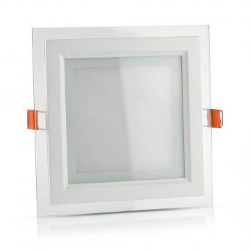 Downlight LED 12W Cristal Cuadrado