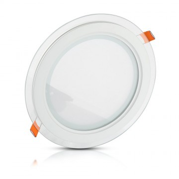Downlight LED 12W Cristal Redondo