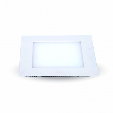 8W LED Panel Downlight Cuadrado Excl. Driver