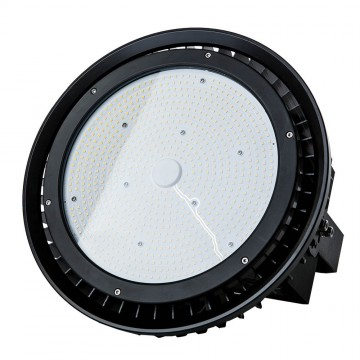 Campana LED 500W Driver Regulable Meanwell Cuerpo Negro