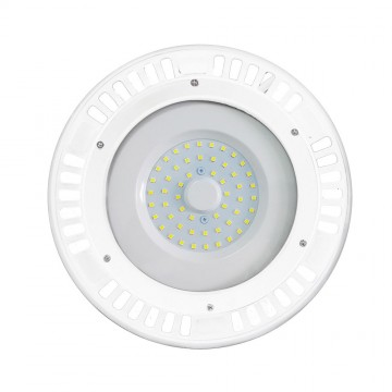 Campana LED 50W Cuerpo Blanco 120'D