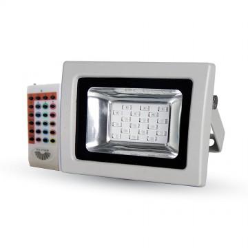 10W LED Proyector SMD RGB con mando a distancia RF