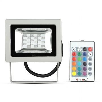 10W LED Proyector SMD RGB con mando a distancia IR