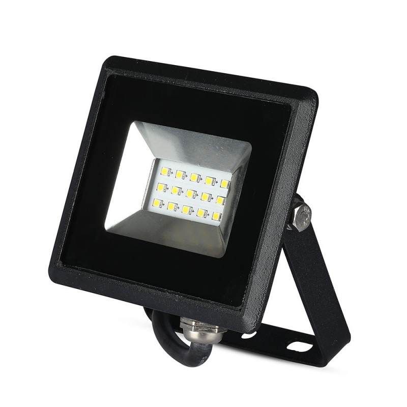 Proyector LED 10W SMD E-Series Cuerpo Negro VT-4011-Proyectores LED-buyled.es