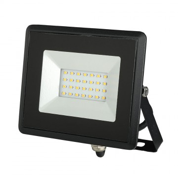Proyector LED 20W SMD E-Series Cuerpo Negro