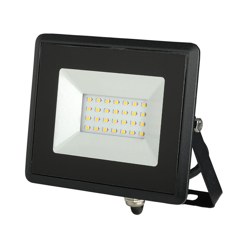 Proyector LED 20W SMD E-Series Cuerpo Negro VT-4021-Proyectores LED-buyled.es