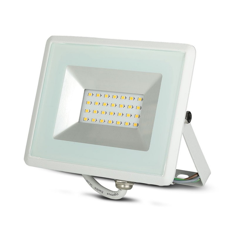 Proyector LED 20W SMD E-Series Cuerpo Blanco