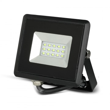 Proyector LED 10W SMD Serie E Cuerpo Negro luz verde IP65