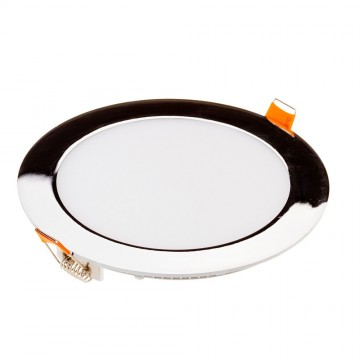 Downlight Slim LED 18W Cromo Superficie