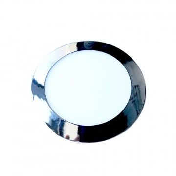 Downlight Slim LED 24W Cromo Superficie