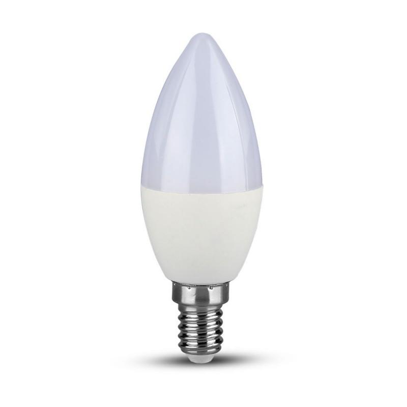 Bombilla LED 5.5W E14 Vela 3 unid./pack VT-2076-Bombillas LED E14-VTAC