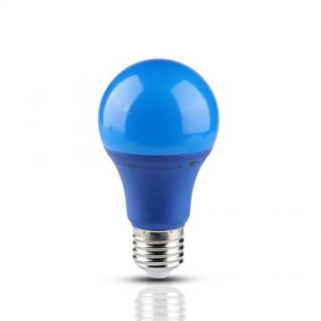 Bombilla LED 9W E27 A60 Azul