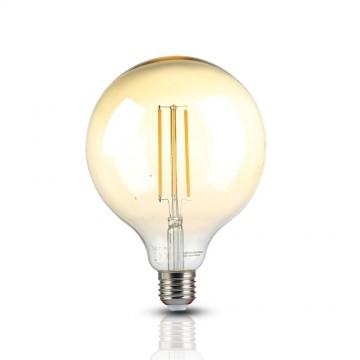 Bombilla de LED 12.5W Filamento E27 G125 Ambar