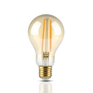 Bombilla de LED 12.5W Filamento E27 A70 Ambar