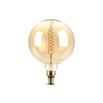 Bombilla de LED 8W Filamento E27 G200 Dimmable