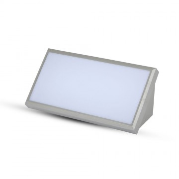 Aplique Pared exterior LED 20W Cuerpo Gris IP65