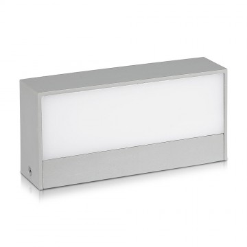 Aplique Pared exterior LED 9W UP-DOWN Cuerpo Gris IP65