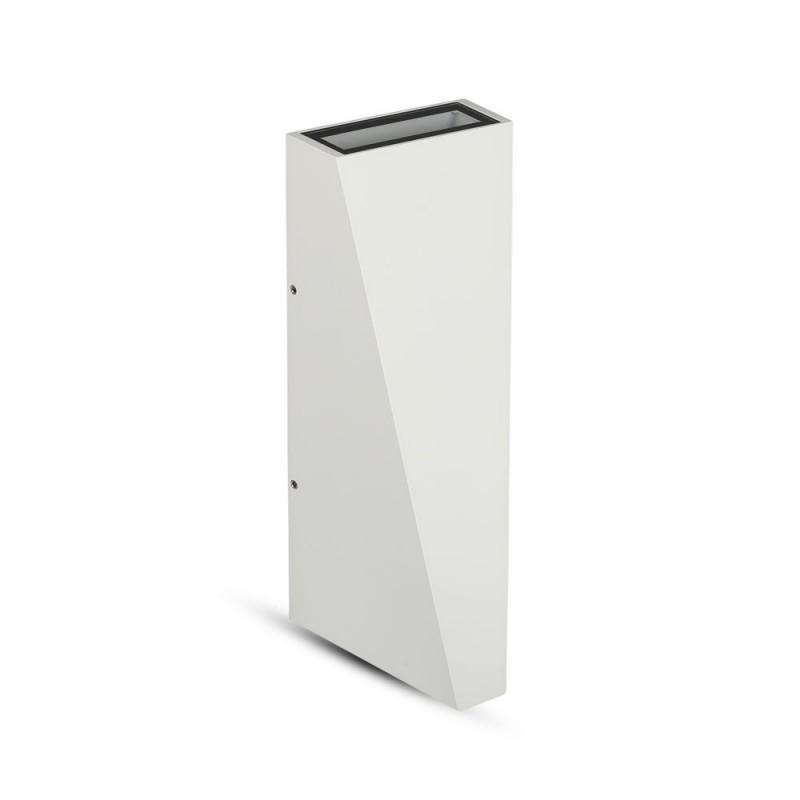 Aplique de Pared 6W UP-DOWN Blanco IP65 VT-826B-Apliques Pared-buyled.es
