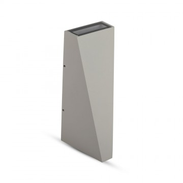 Aplique de Pared 6W UP-DOWN Gris IP65