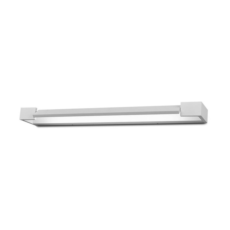 Aplique Pared LED 18W Angulo Ajustable Cuerpo Blanco IP44 VT-819B-Apliques Pared-buyled.es