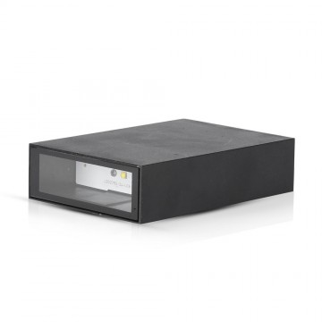 Aplique de Pared LED 4W DOWN Color Negro IP65
