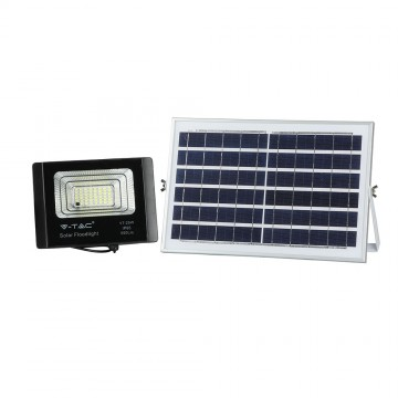 Panel solar 12W con proyector de LED